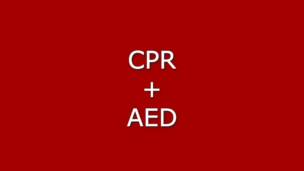 CPR + AED