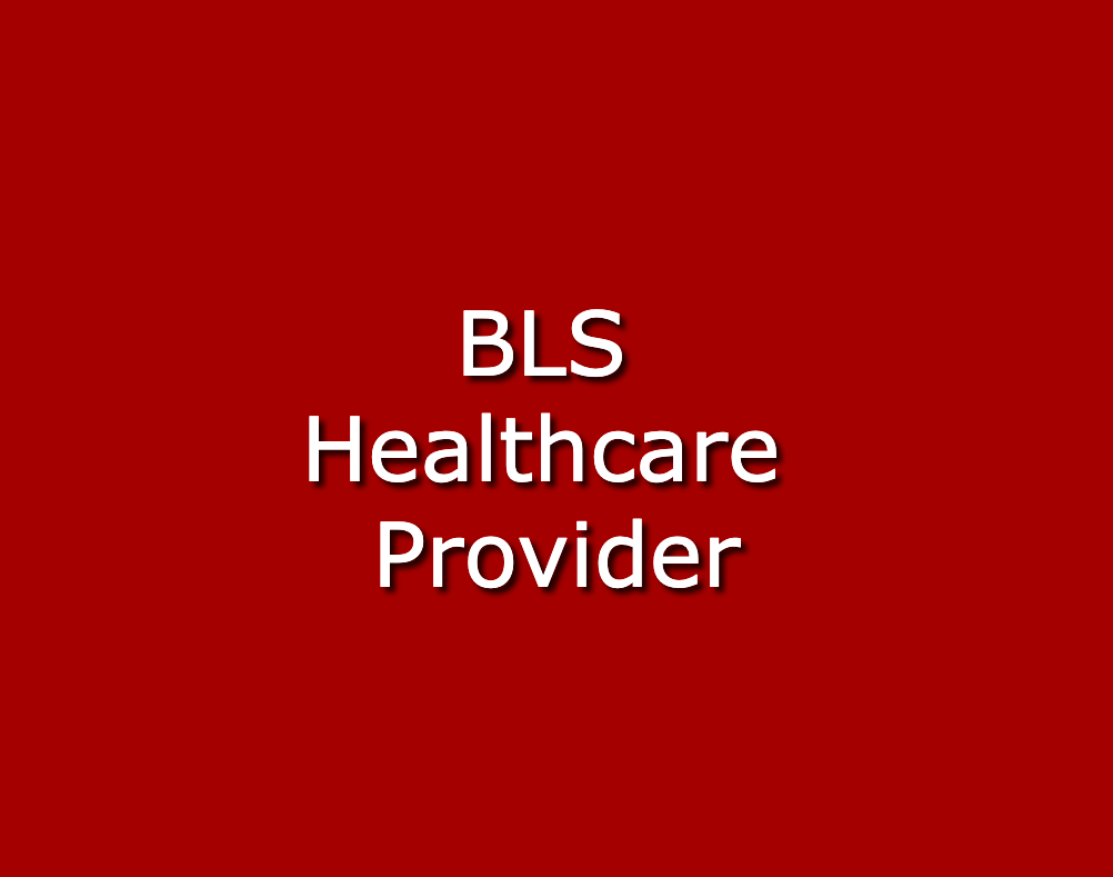 Initial Basic Life Support (BLS)