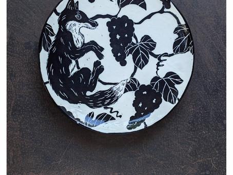 【企画展のお知らせ】MIKI KANAME Exhibition 要 美紀『どうぶつのうつわ展』
