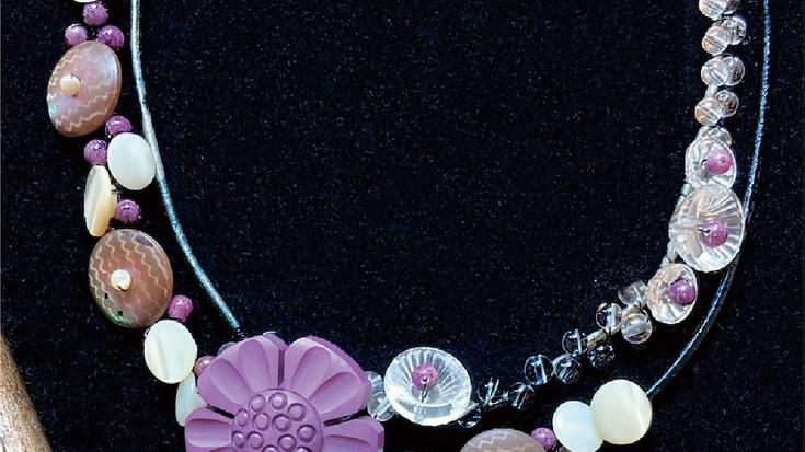 【企画展のお知らせ】アンティーク・ヴィンテージ・ボタンアートアクセサリー展