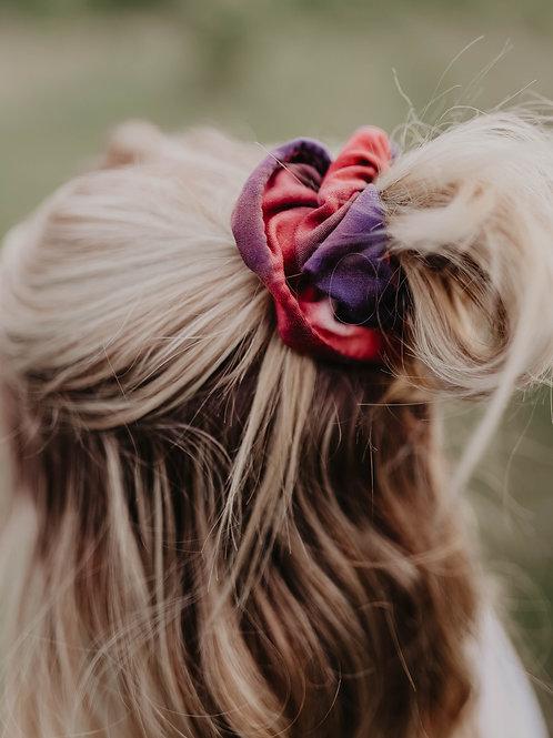 Patriotic Tie Dye Scrunchie