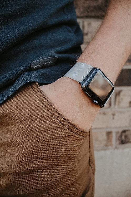 Gray Elastic Apple Watch Band