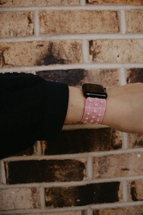 Pink Dot Apple Watch Band