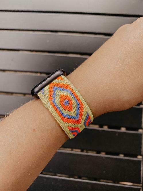 Yellow Summer Apple Watch Band