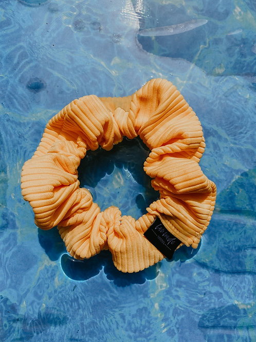 Yellow Swim Scrunchie