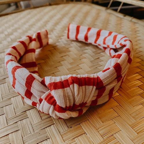 Red + Pink Hard Headband
