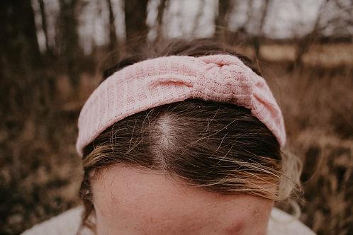 Waffle Top Knot Hard Headband