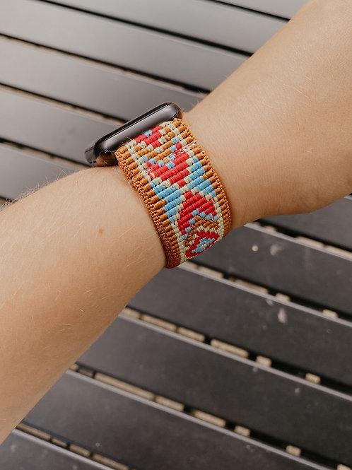 Dark Tan Summer Apple Watch Band