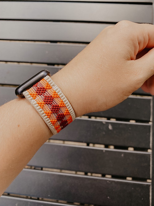 Light Tan Summer Apple Watch Band