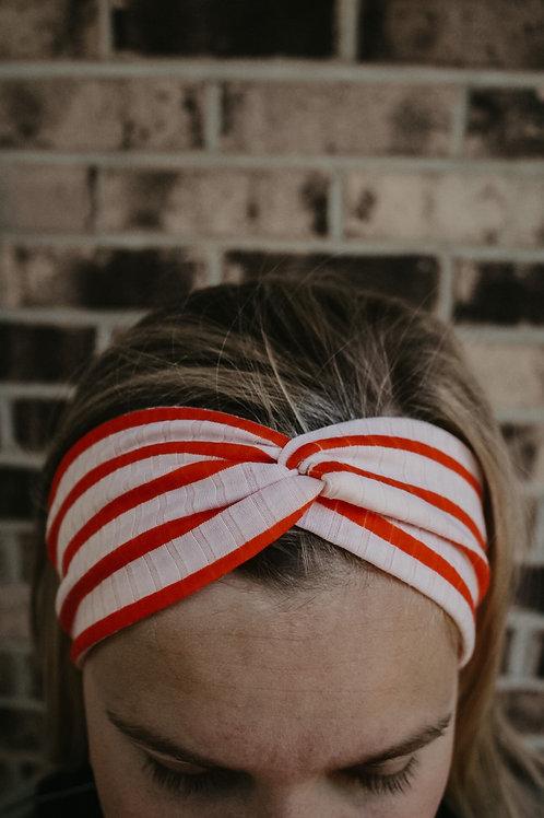 Pink + Red Headband