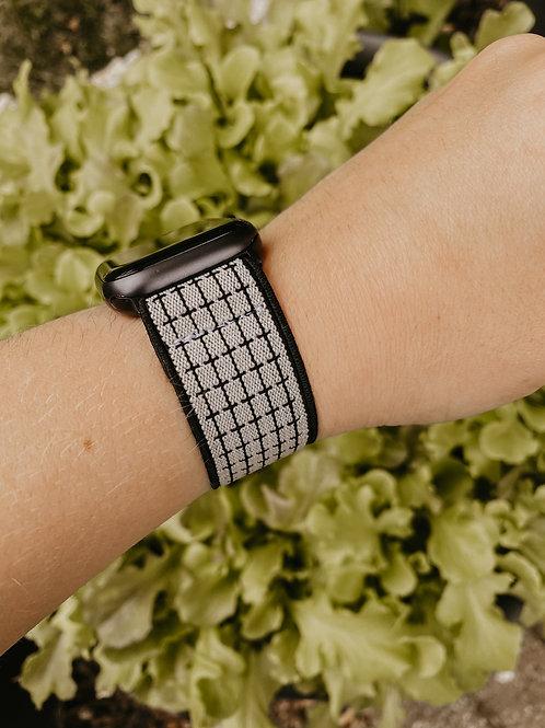 B + W Plaid Apple Watch Band