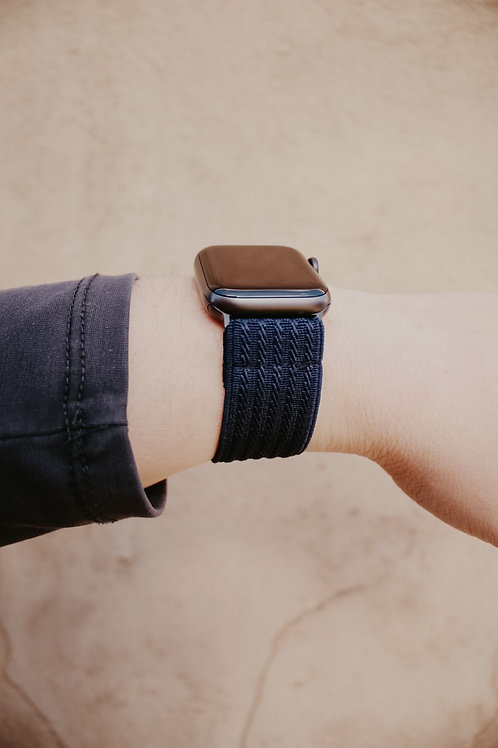 Navy Apple Watch Band