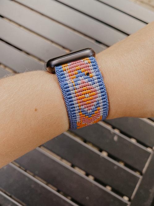 Blue Summer Apple Watch Band