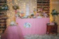 Chá de Bebê Cegonha Rosa