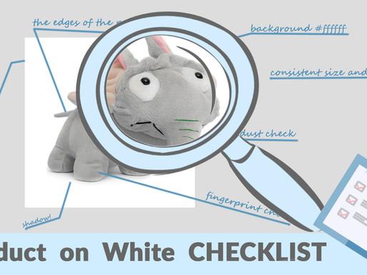 Photo on White CHECKLIST, Video + Handout