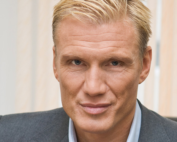 Actor Dolph Lundgren by Irina Logra