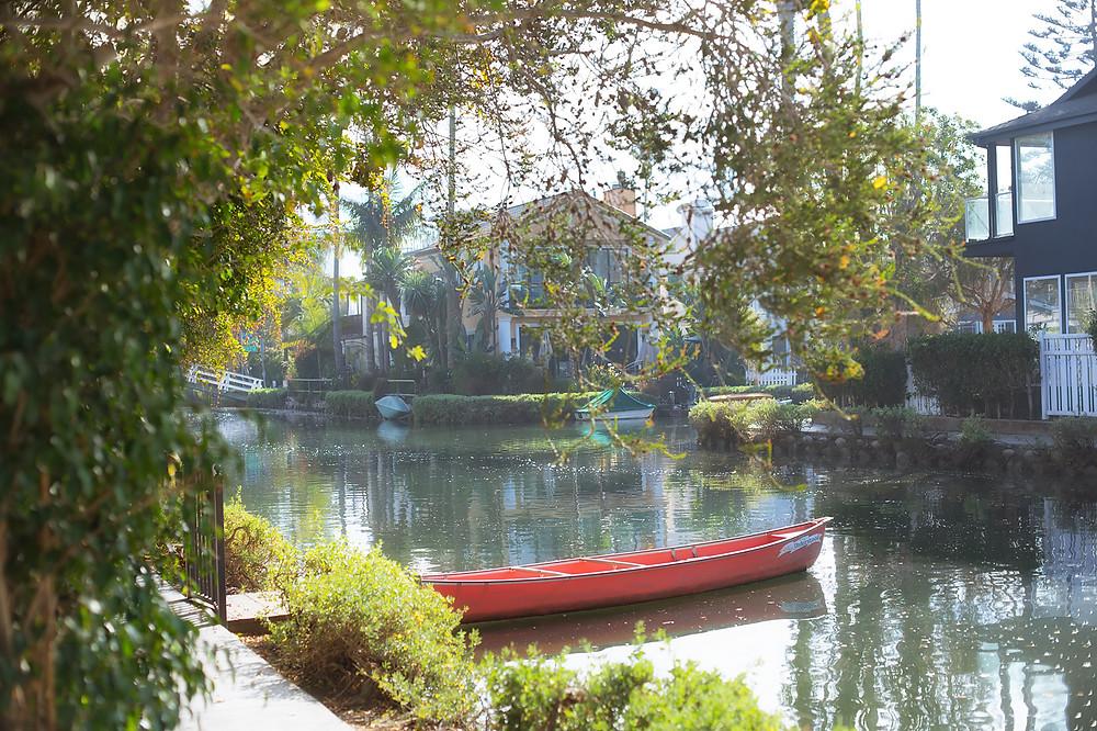 Venice Canals, California. Photo by Irina Logra