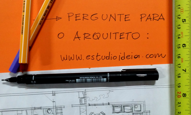 Tire suas Dúvidas - arquitetos respondem