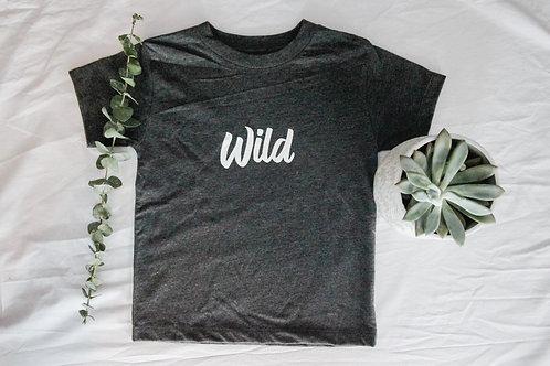 Wild Littles Tee | Grey