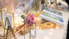 classic elegance wedding reception table