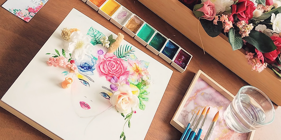 Floral Art and Watercolor Illustration Masterclass III
