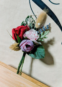 modern rustic wedding corsage 1.jpg