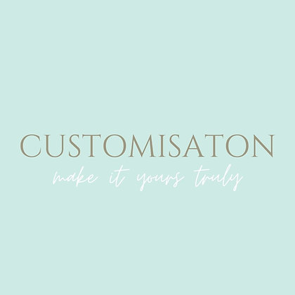 Customisations