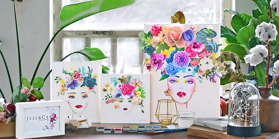 Floral Art & Watercolour Illustration Masterclass III