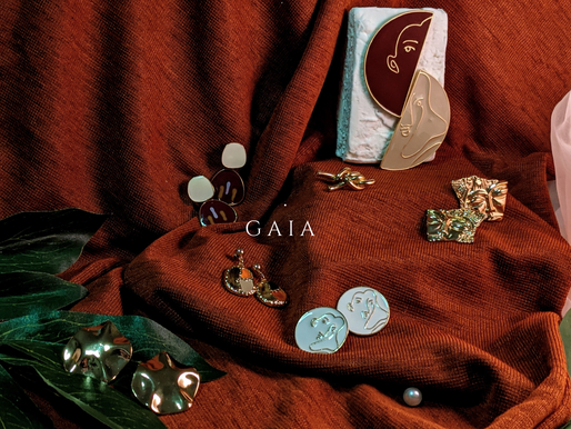 Style up your outfits with jewellery inspired by the beauty of Mother Nature - G A I A