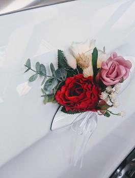 modern rustic wedding car floral decor 2.jpg