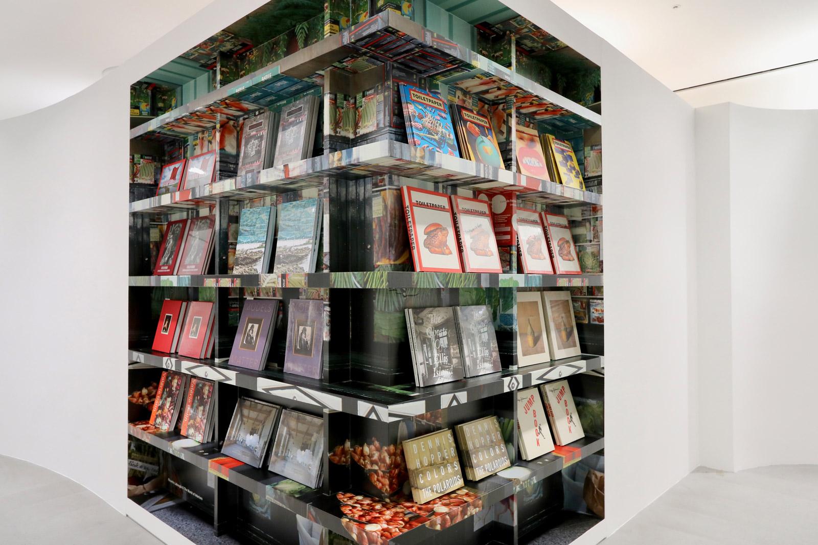 Interior Bookshelf