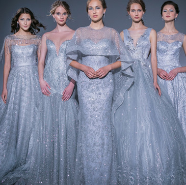 Rico-A-Mona: Singapore's First Digital Bridal Fashion Show - A Play with Sparkles