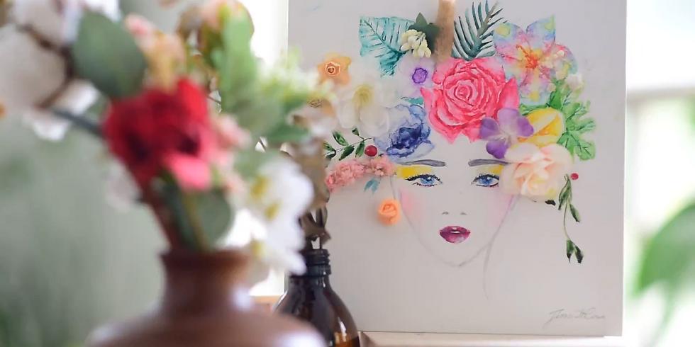 Floral Art & Watercolour Illustration Masterclass