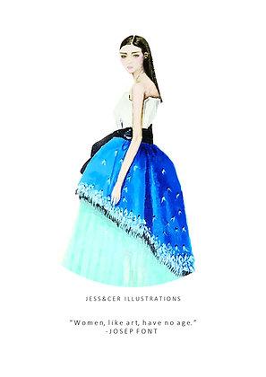Delpozo Blue Print