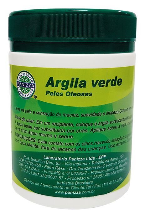 Argila pote verde - Panizza 200g