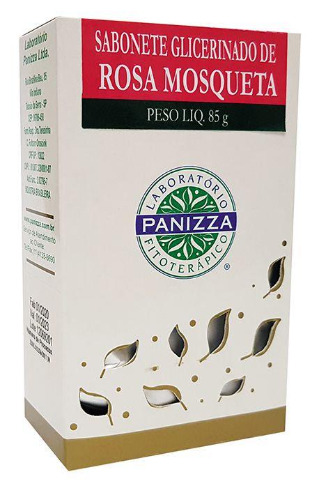 Sabonete rosa mosqueta - Panizza 85g