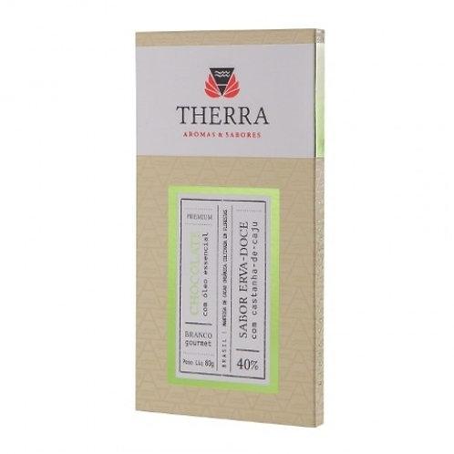 Chocolate branco erva doce com castanha 40% - Laszlo 80g