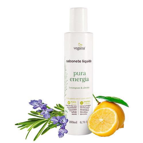 Sabonete líquido pura energia - Vegana 200ml