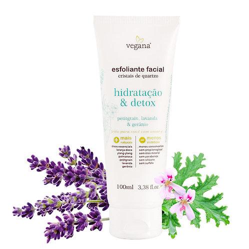 Esfoliante facial hidratação e detox - Vegana WNF 100ml