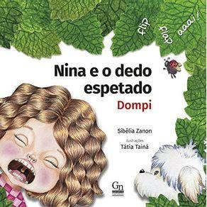 Livro infantil Nina e o dedo espetado