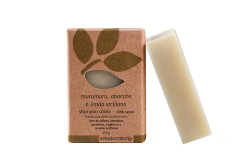 Shampoo Murumuru, Abacate e Limão Siciliano - Cabelos normais a mistos