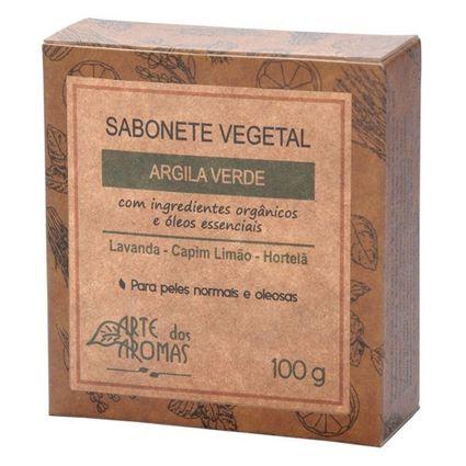 Sabonete argila verde - Arte dos Aromas 100g