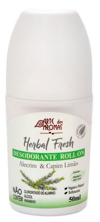 Desodorante Roll On Alecrim & Capim