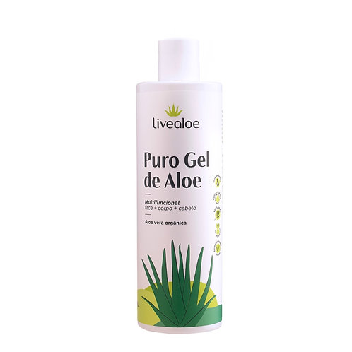 Gel de aloe vera puro - Livealoe 500ml