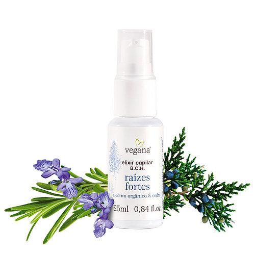 Elixir raízes fortes alecrim - Vegana 25ml