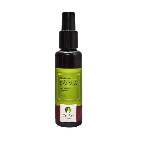 Desodorante spray sálvia - Cativa 120ml