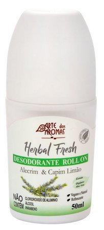 Desodorante roll-on alecrim e capim limão - 50ml