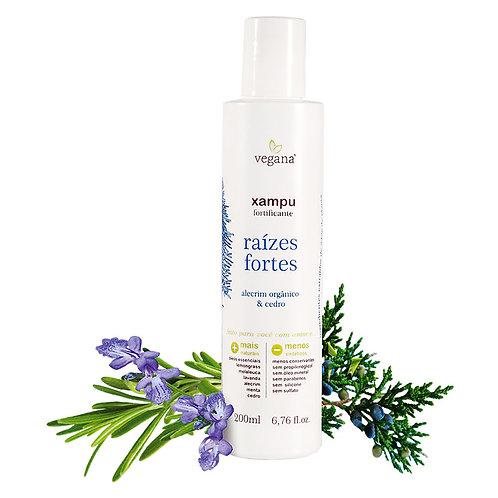 Shampoo raízes fortes alecrim - Vegana 200ml