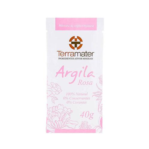 Argila sachê rosa - Terramater 40g