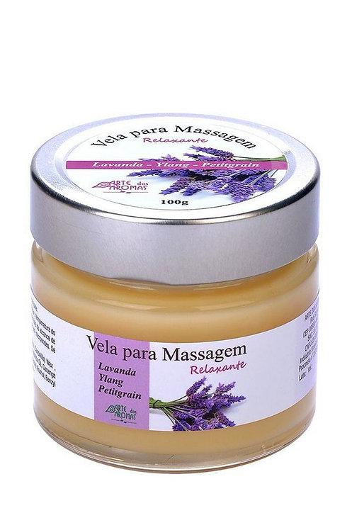 Vela para massagem relaxante - 100g